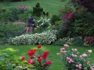 landscape, flowers, landscape design