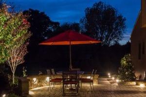 Professional Landscape Lighting | Parker Homescape