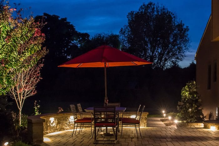 Professional Landscape Lighting | Parker Homescape