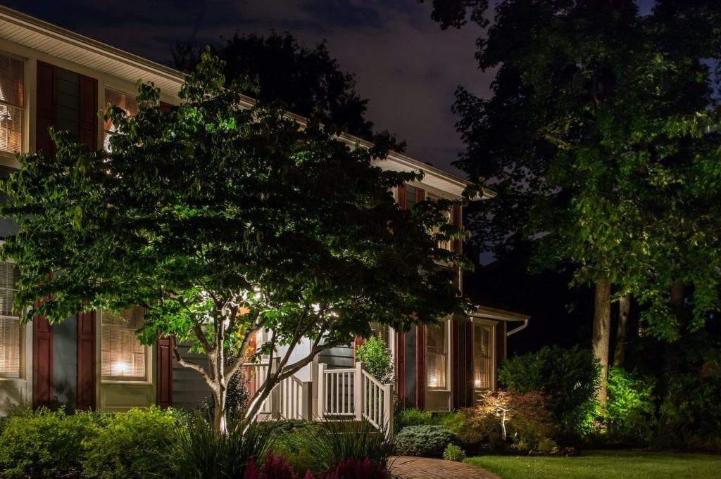 Warren, New Jersey L:andscape Lighting