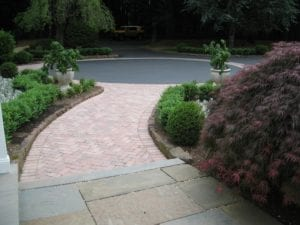 paver drivway inlay