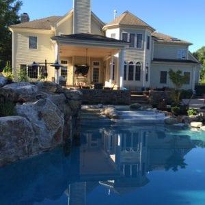 pool decking designs central nj