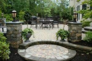 paver stone step