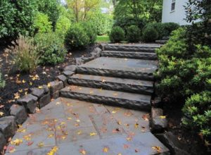 hardscape, walkway, steps, retaining wall