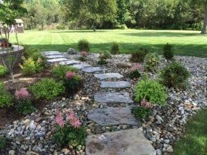 stepping stone, hardscape, walkway,