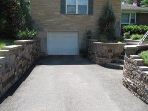 paver block retaining wall