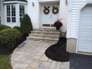 walkway front step