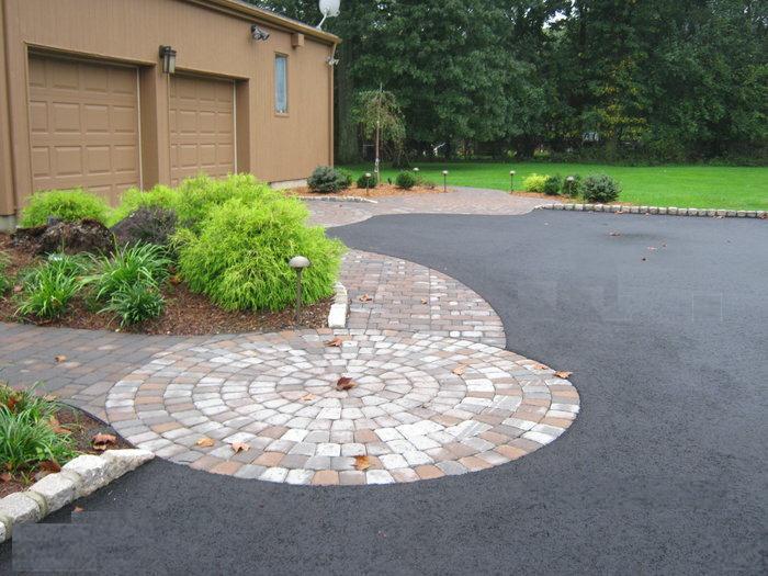 paver driveway inlay