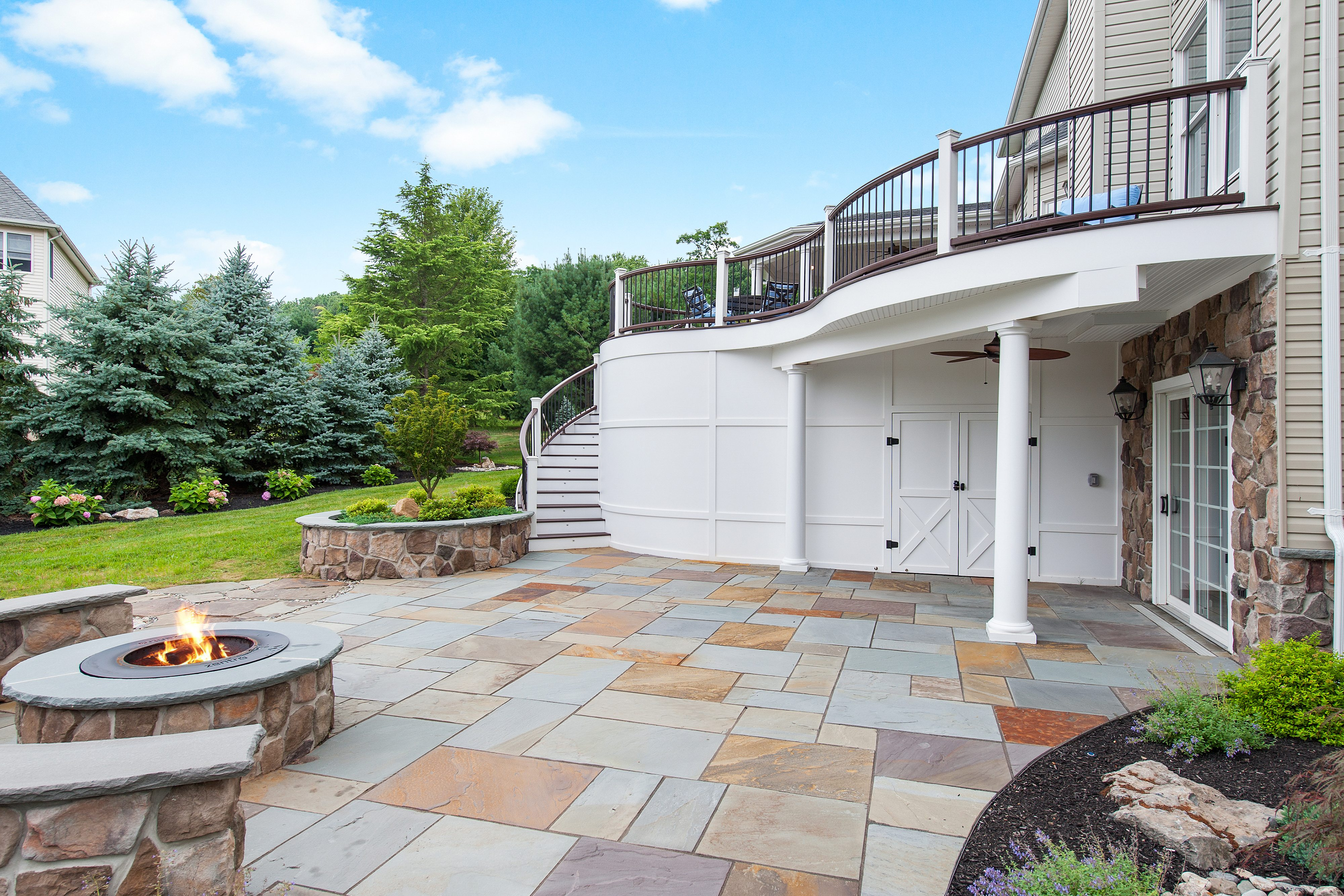 natural stone patio somerset county