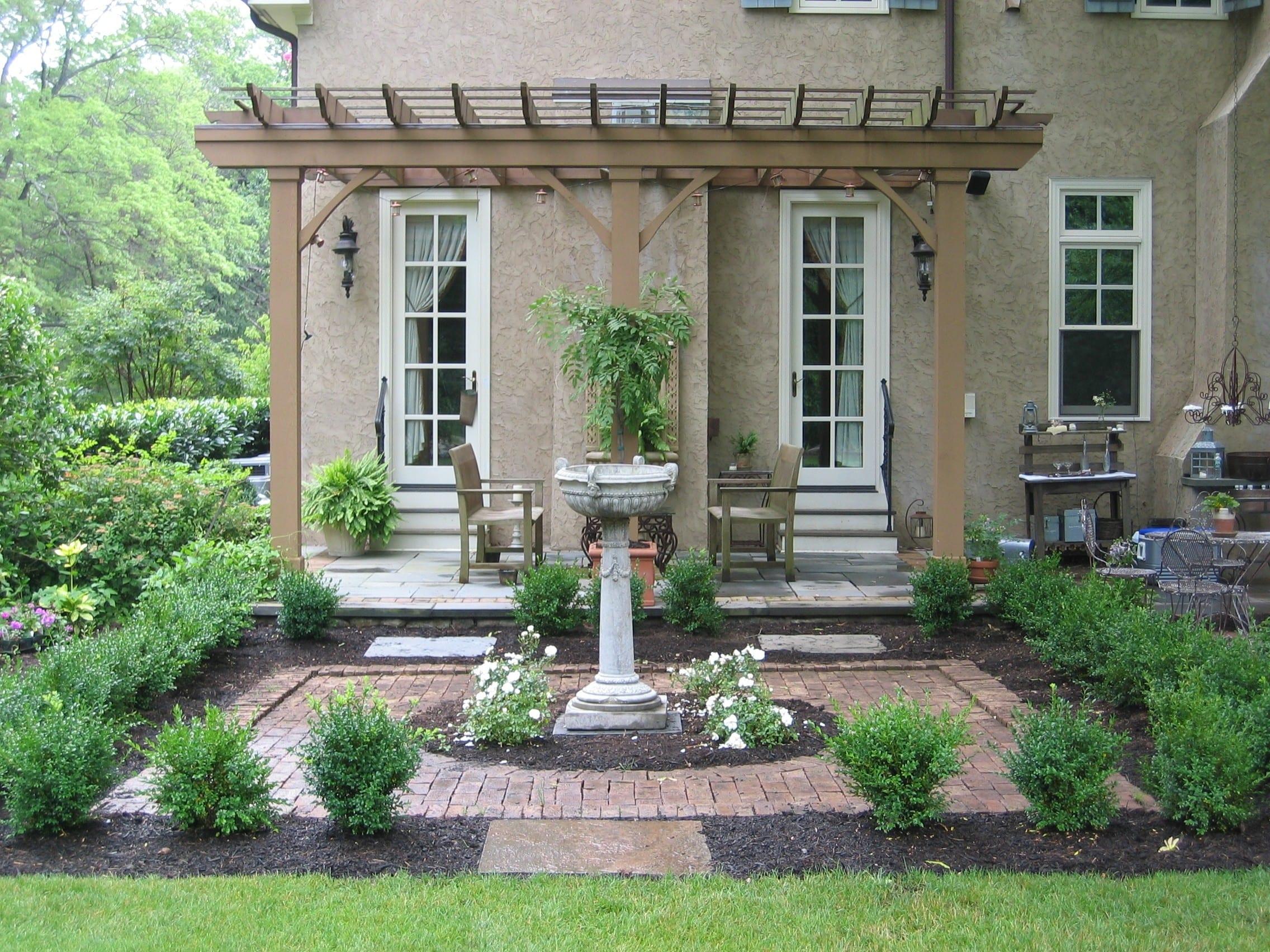 landscape design, english garden