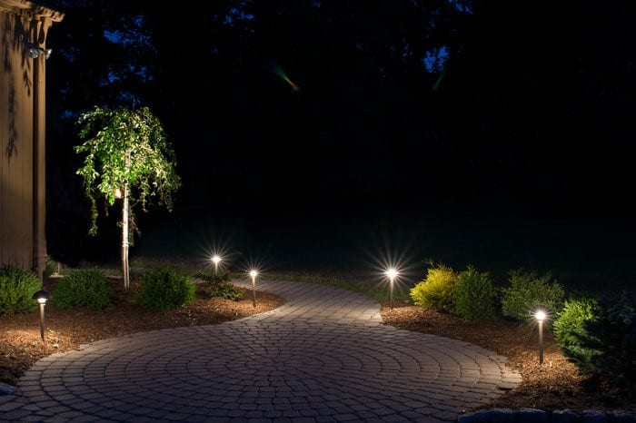 outdoor lighting, path lighting