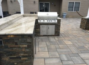 custom outdoor kitchen cost nj