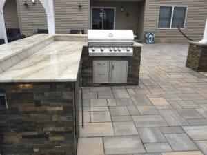 custom outdoor kitchen cost nj