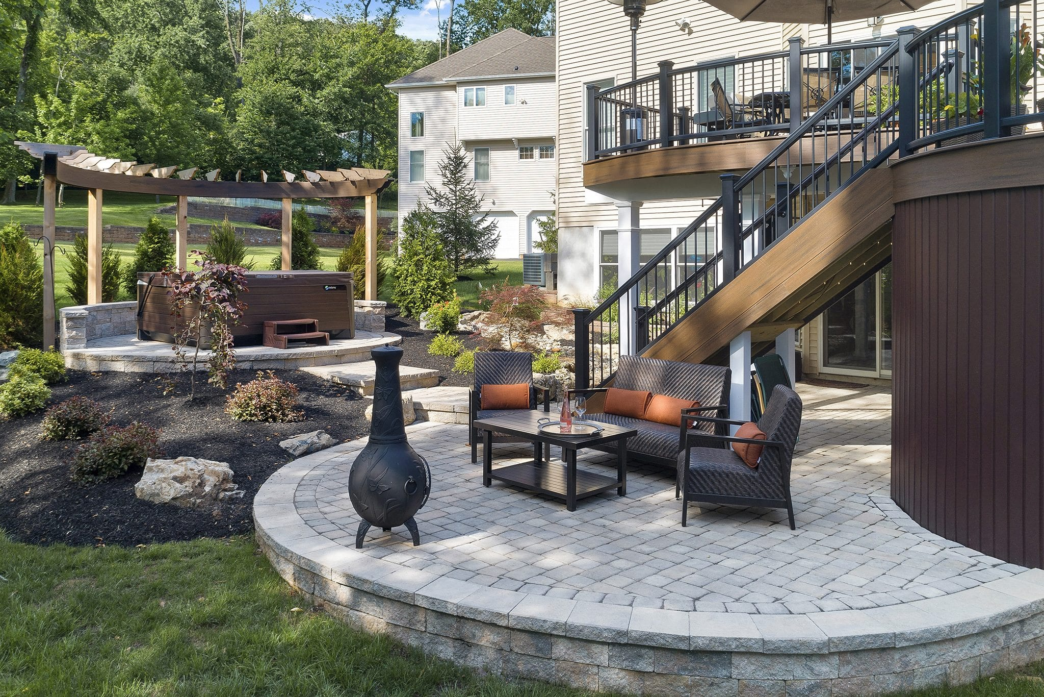 4 Raised Patio Designs That Will Make Your NJ Home Stand Out on garden rocks and stones, garden steps stones, garden building stones, garden plants, garden railroad ties, garden ponds stones, edging stones, garden drainage, garden marble stones, garden landscape design, landscaping stones, drainage stones, garden water features, turf stones, garden stepping stones, garden pest control, garden gravel stones, garden landscape stones, garden fence stones,