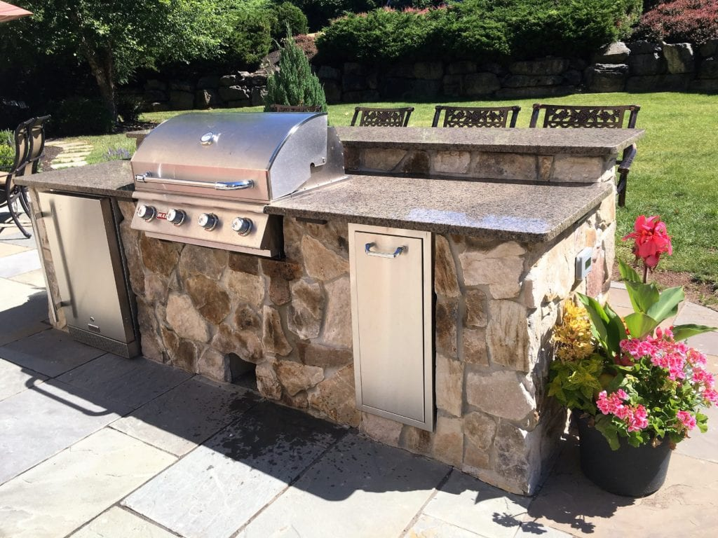 outdoor kitchen design nj