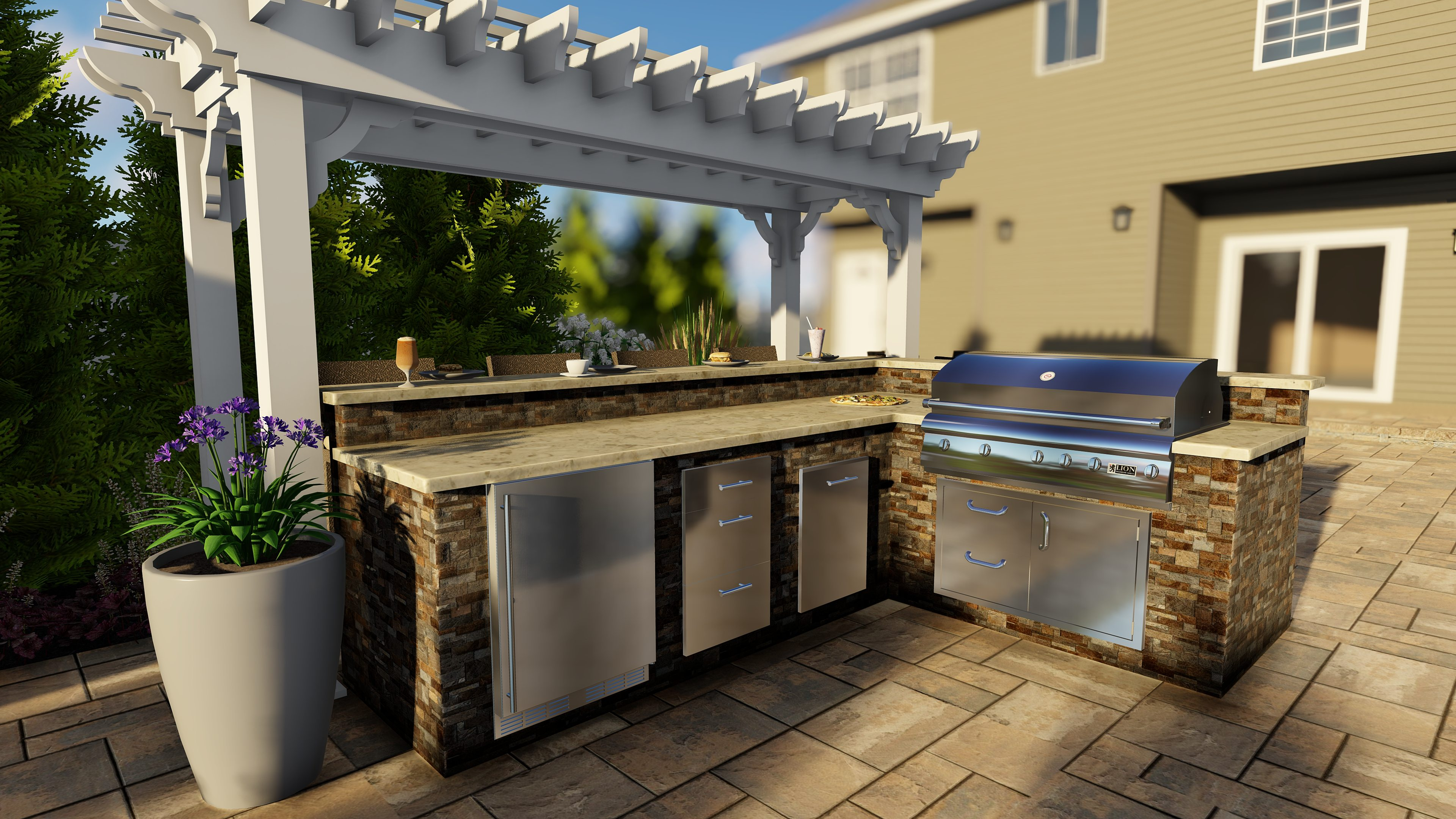 How to Find the Best Custom Outdoor Bar Contractors in Union County NJ