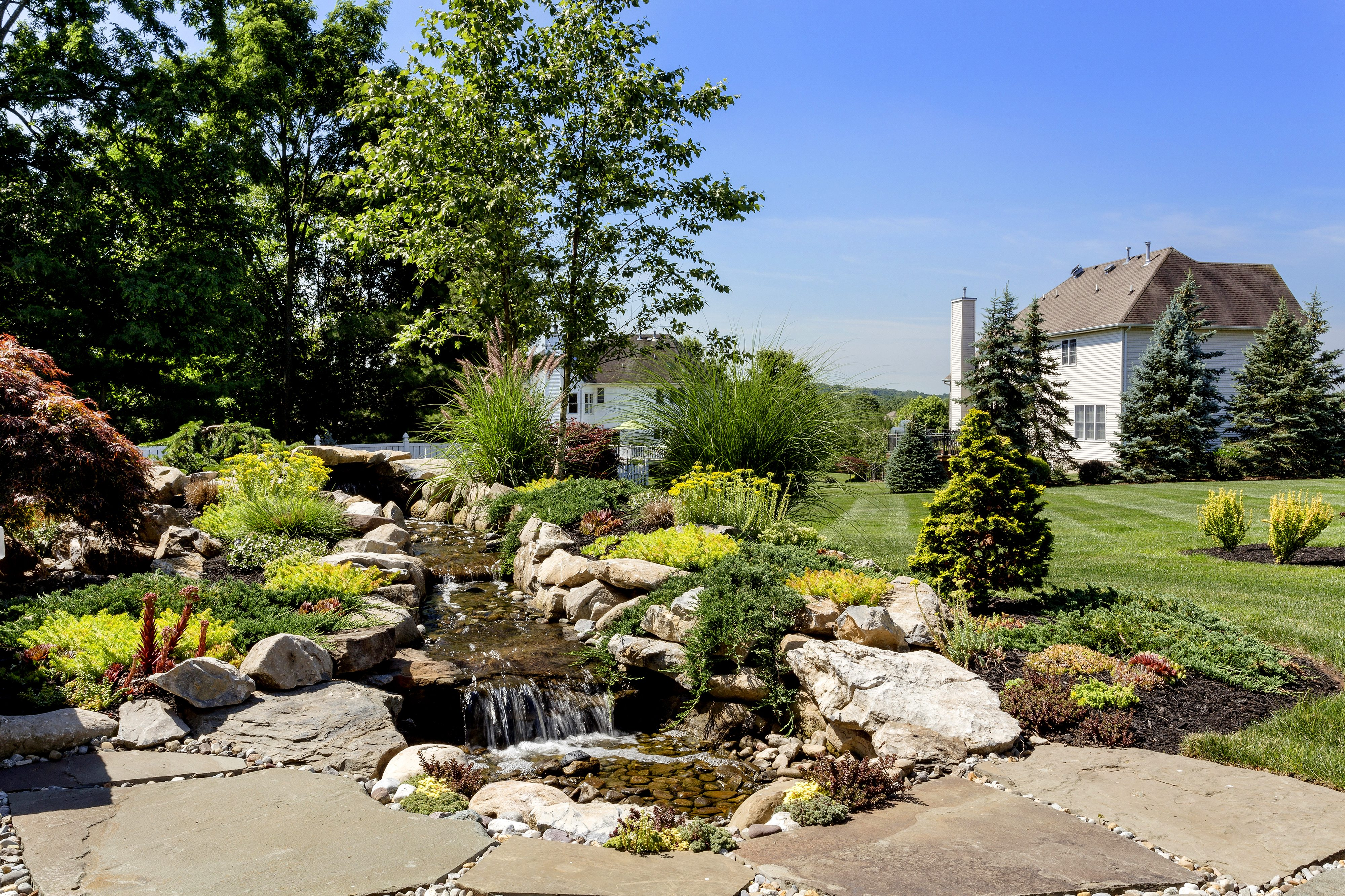 How Much Does a Pondless Waterfall Cost in Somerset County, NJ?