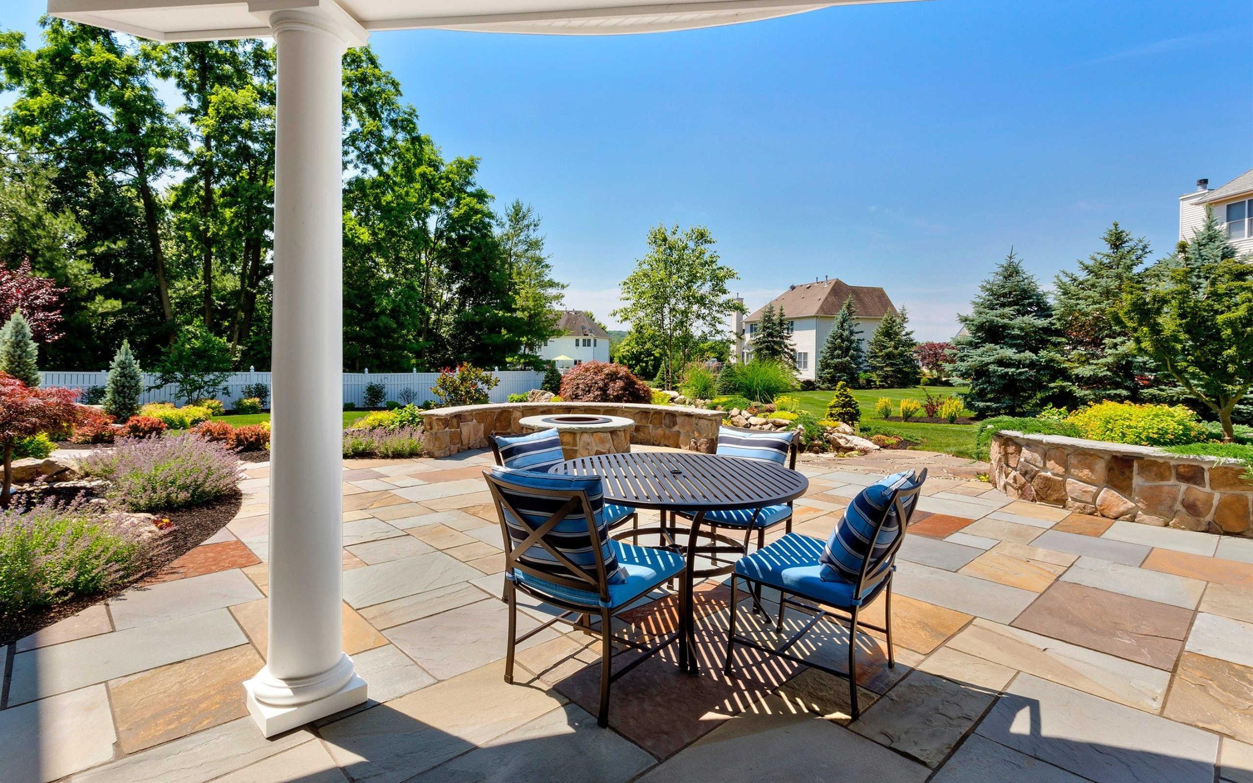 landscape design nj patio